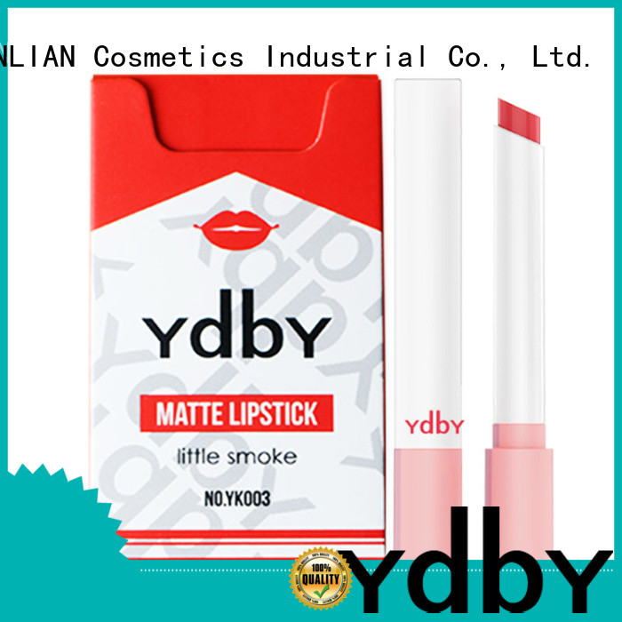 Latest long lasting red lipstick company for promotion