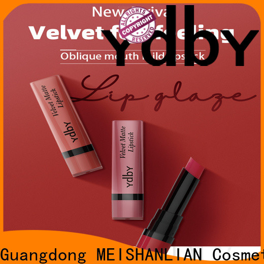 YdbY Custom pink lipstick makeup company for sale