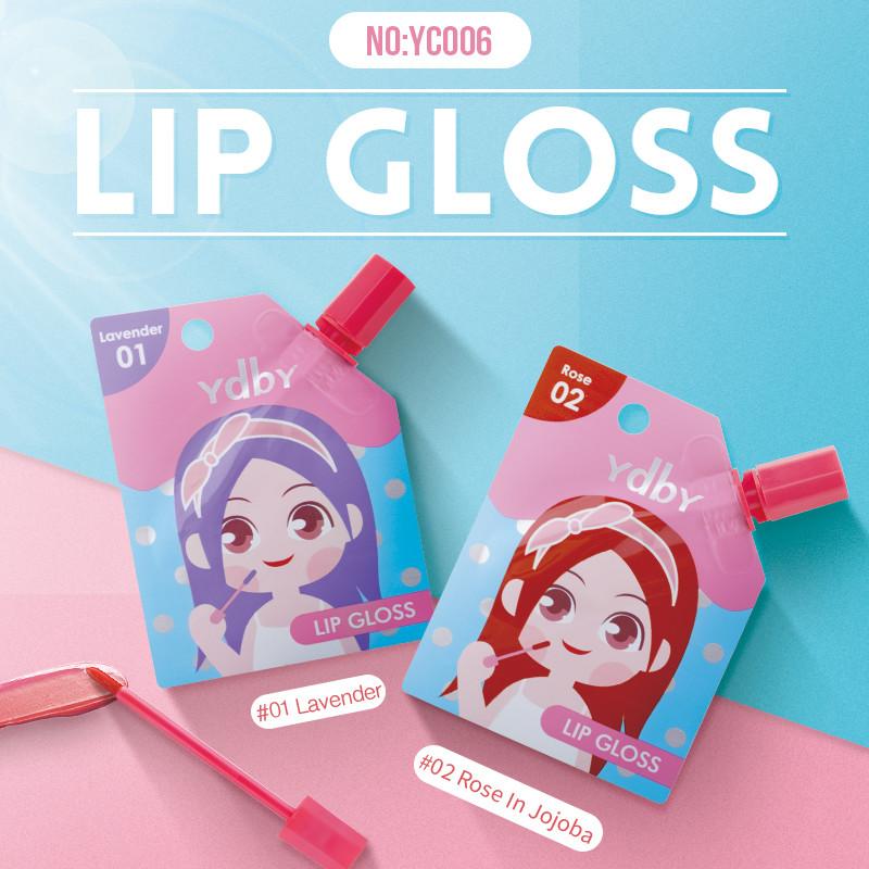 Matt Lip Gloss Velvet Long Lasting Lip Gloss Set Lip Gloss Makeup Liquid Lipstick YC006
