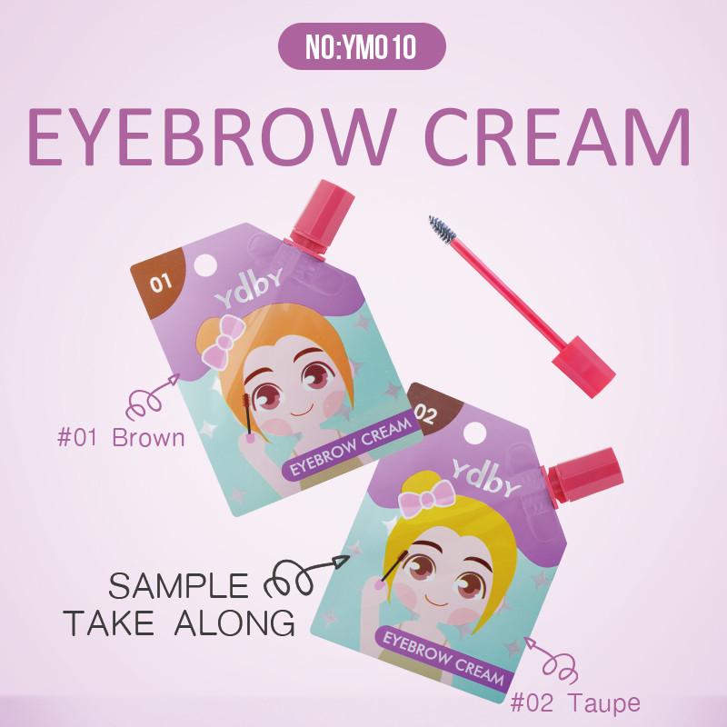 Waterproof Sweatproof Long-Lasting Eyebrow Cream YM010