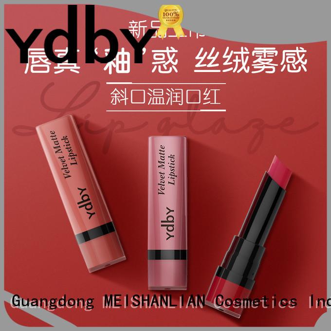 YdbY burgundy lipstick makeup manufacturers bulk production