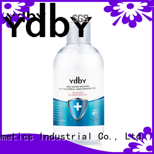 YdbY Custom antimicrobial hand sanitizer manufacturers bulk production